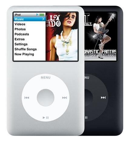 Der iPod Classic aus dem Jahr 2007