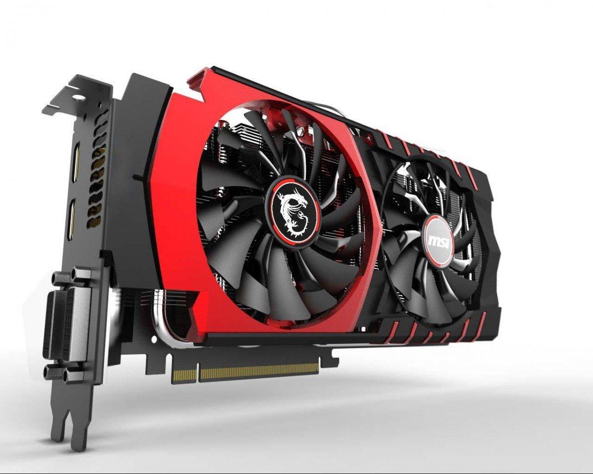 Die GeForce GTX 980 von MSI