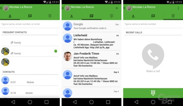 Google Hangouts 2.3 für Android
