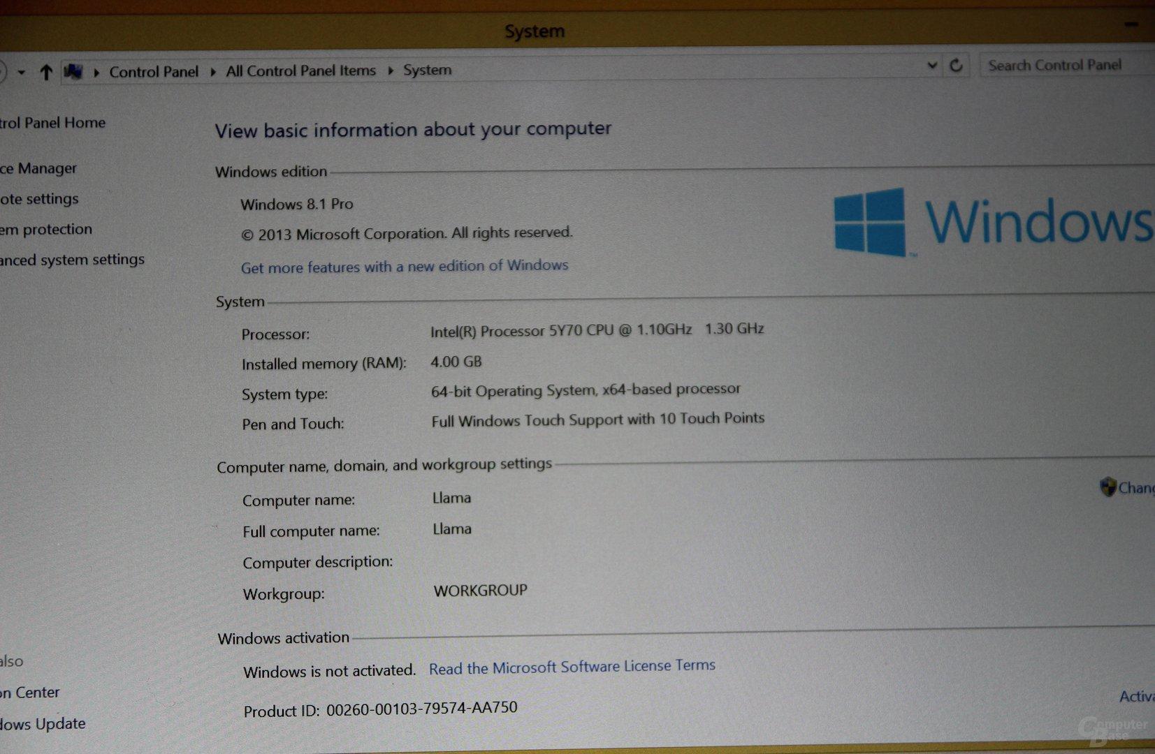 Intel Core M zum IDF 2014