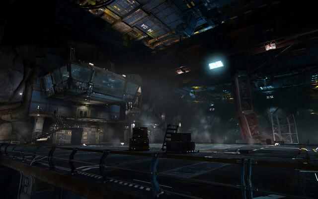 """Asteroid""-Hangar"