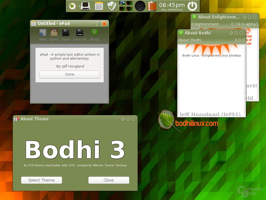Bodhi 3.0 RC1