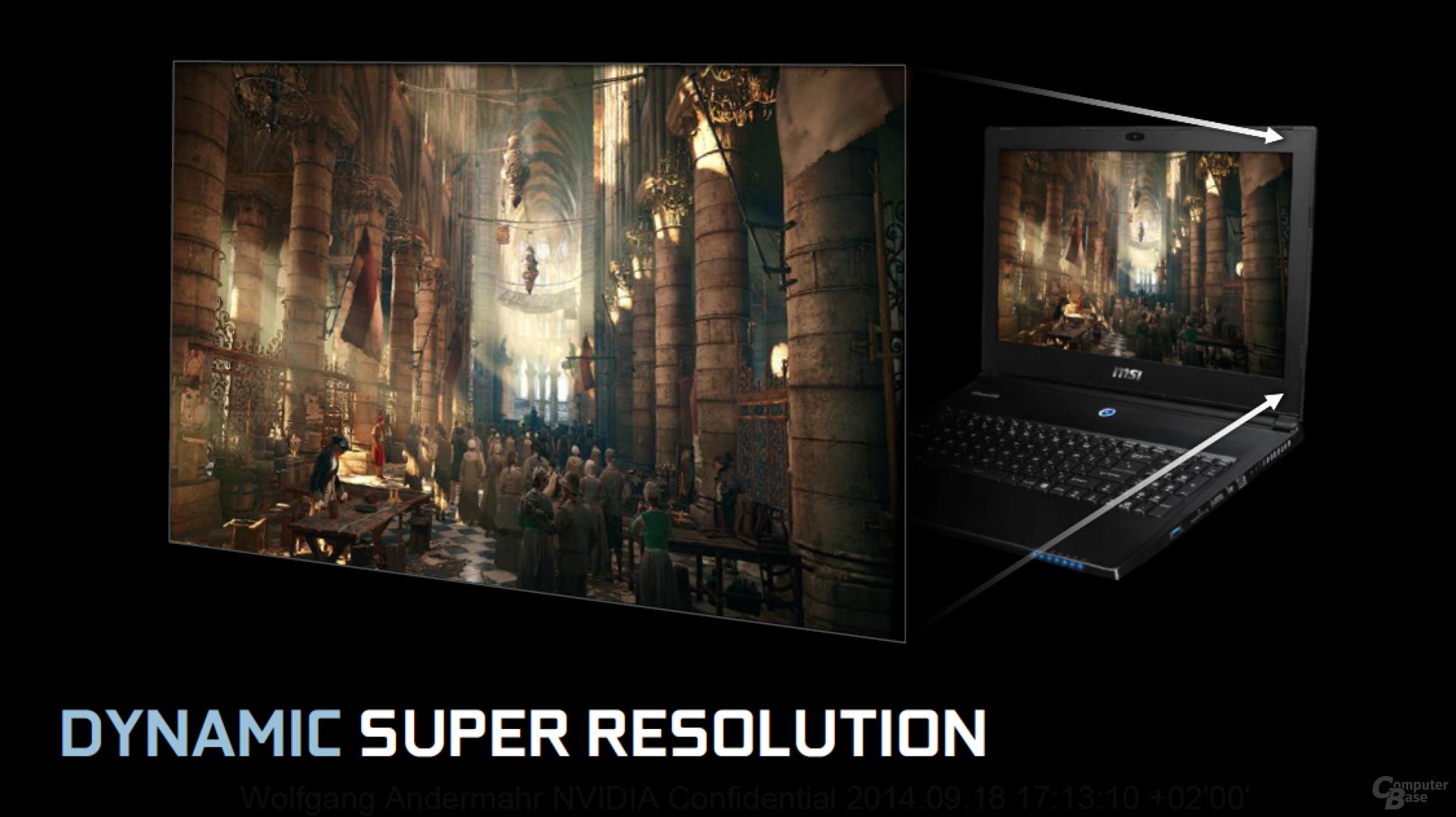 Dynamic Super Resolution (DSR)