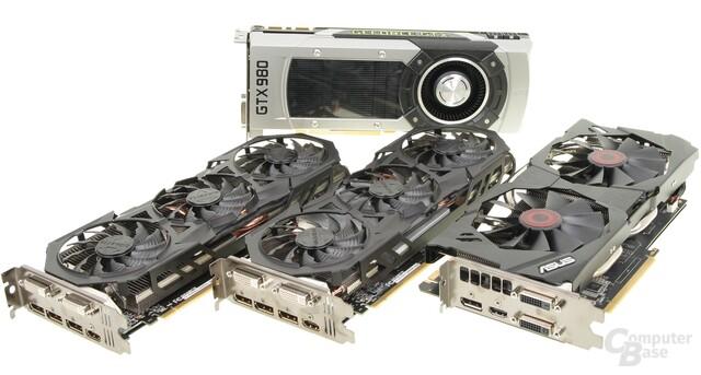 Vier Mal Nvidia GM204 im Test