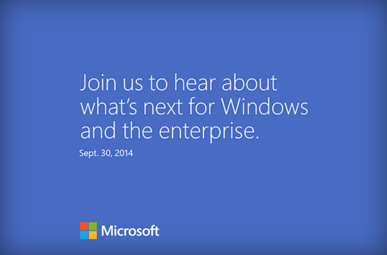Microsoft lädt zum 30. September nach San Francisco