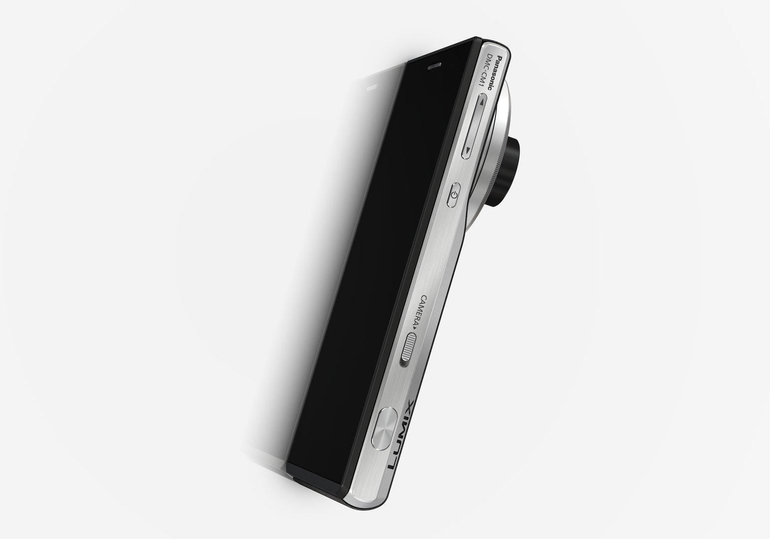 Panasonic Smart Camera CM1 – ausgefahrene Kamera