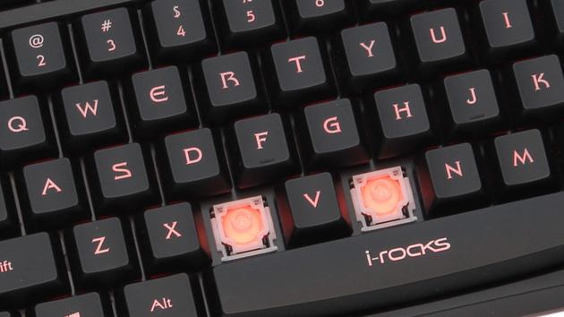 i-rocks Golem im Test: Tastatur mit Scherentastern für Spieler
