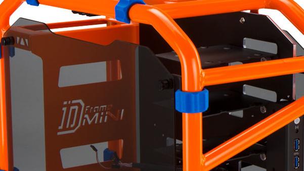 In Win D-Frame: Rohrrahmen-Gehäuse für das Mini-ITX-Format