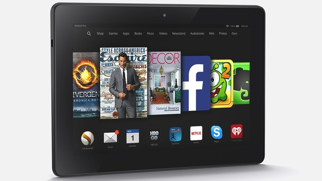 Amazon: Fire-Tablets HD 6, HD 7 und HDX 8.9 vorgestellt