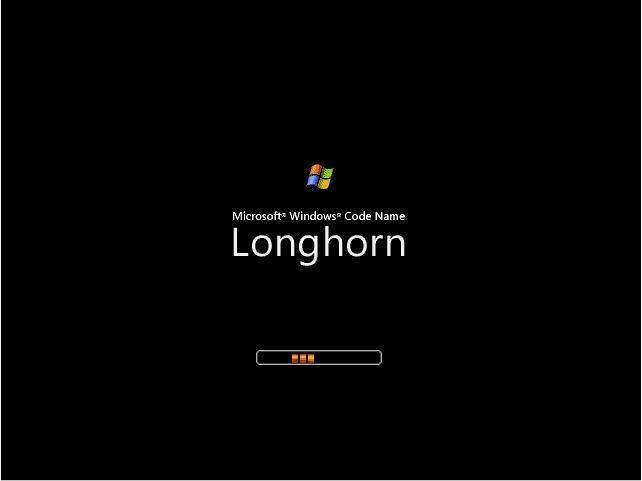 Windows Longhorn Bootscreen