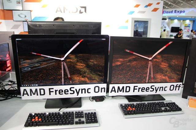 AMD FreeSync im Vergleich