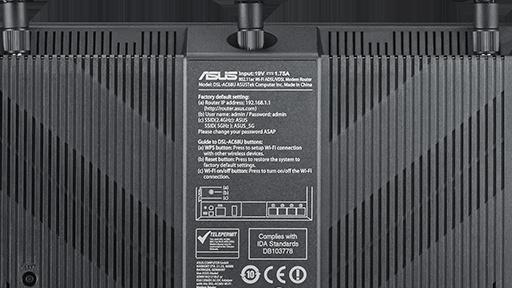 Asus DSL-AC68U: WLAN-ac-Router mit DSL-Modem ab 180 Euro lieferbar