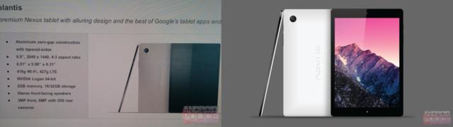 Abbildung soll das HTC Nexus 9 zeigen