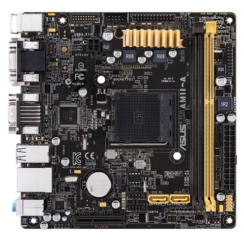 Asus AM1I-A mit PCIe-x4-Slot