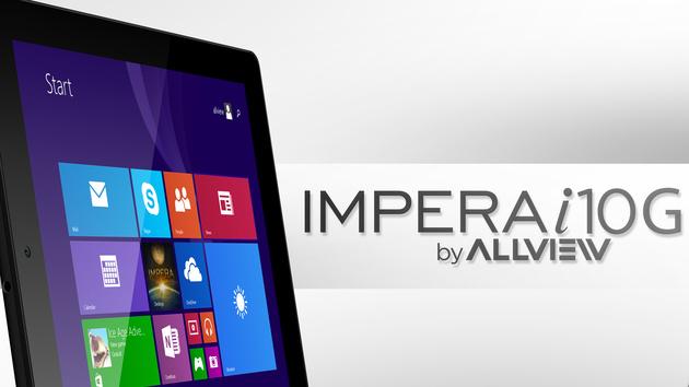 Allview Impera i10G: Windows-Tablet mit 9,7 Zoll und 3G für 279 Euro