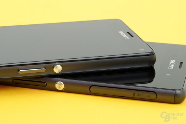 Sony Xperia Z3 und Xperia Z3 Compact im Test
