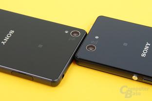 Sony Xperia Z3 und Xperia Z3 Compact im Vergleich