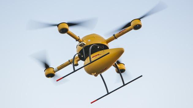Paketkopter: DHL testet Lieferung per Drohne im Linienbetrieb