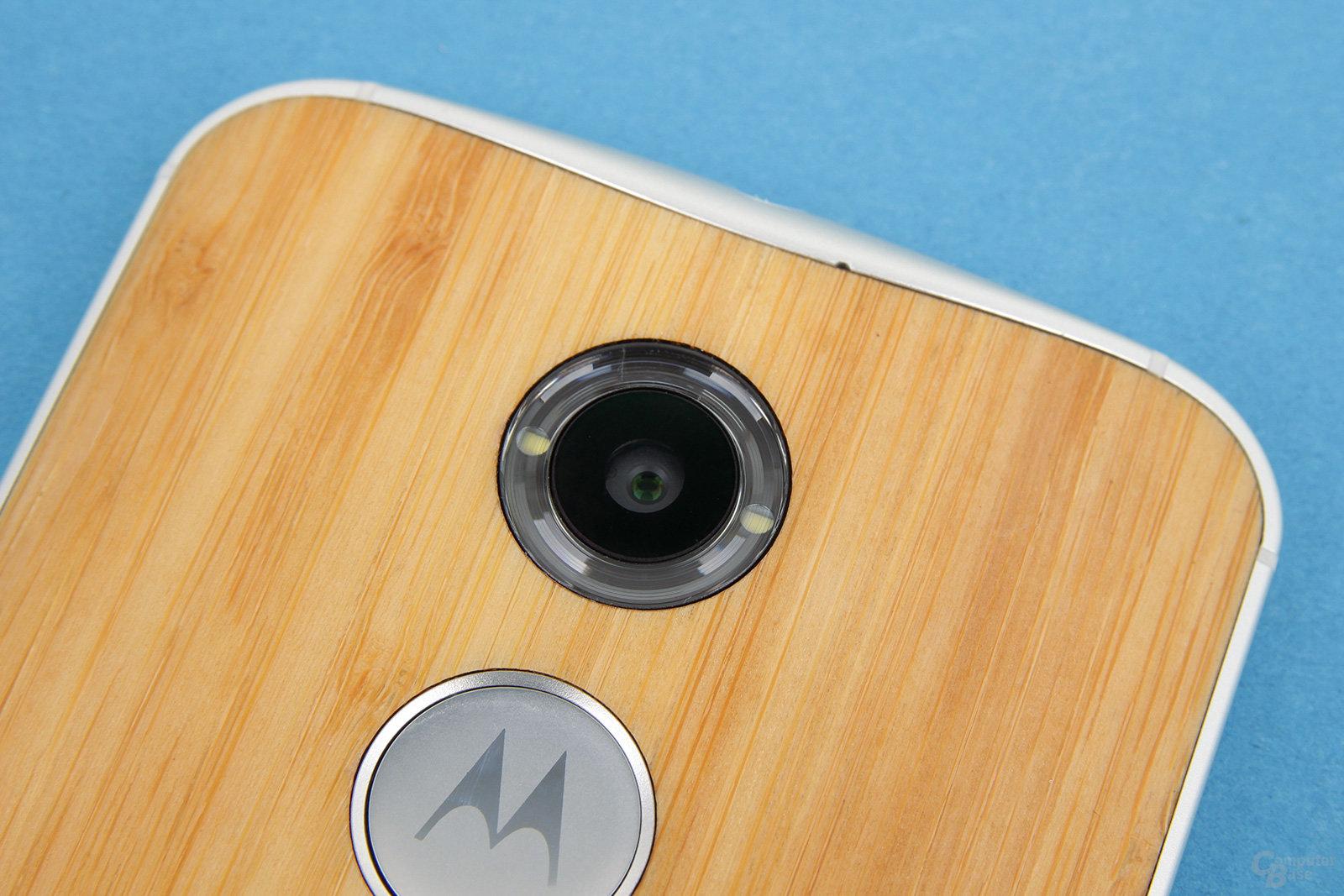 Motorola Moto X 2014 – Kamera mit neuartigem Ring-Blitz