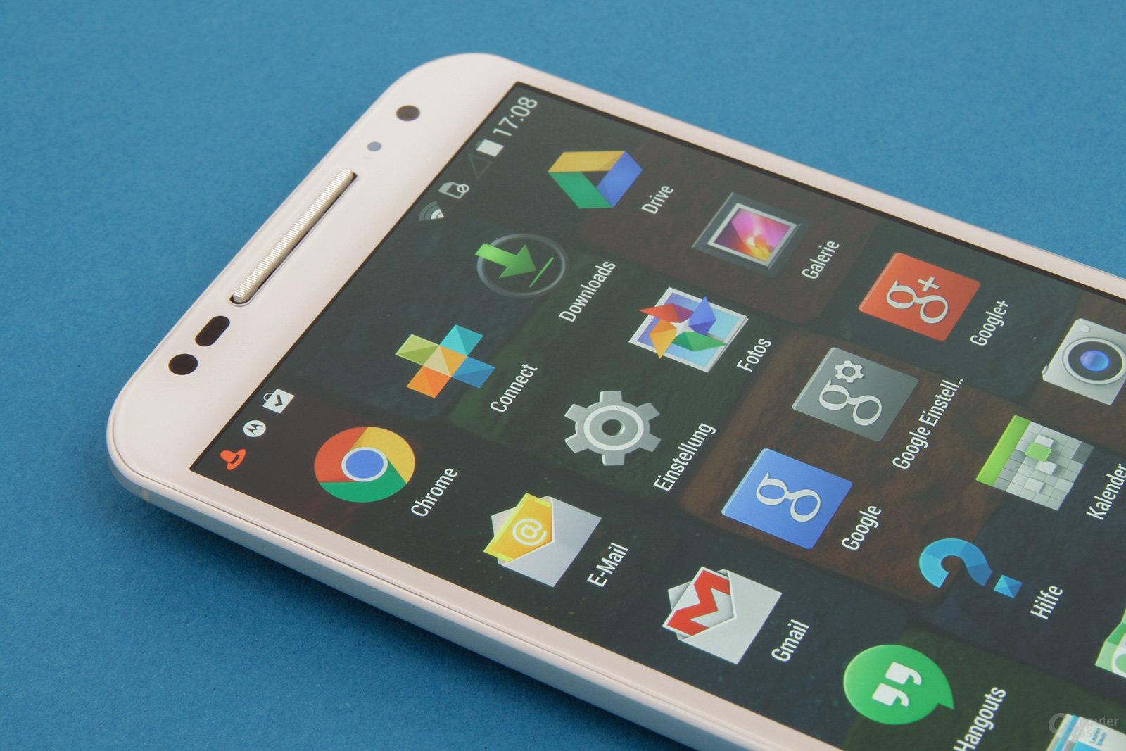 Motorola Moto X 2014 – Nahezu unverändertes Android 4.4.4