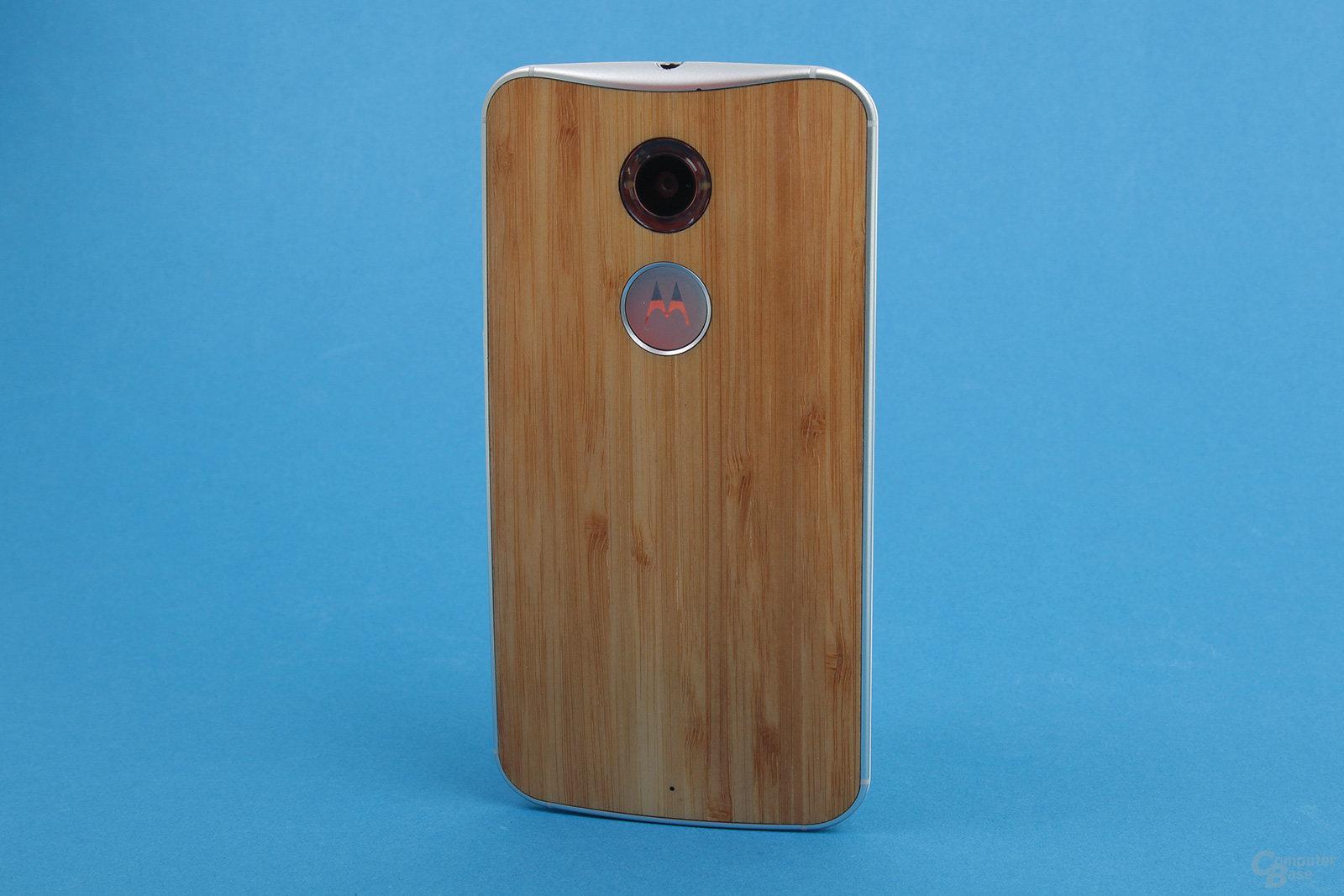 Motorola Moto X 2014 – Dank Moto-Maker Rückseite auf Wunsch aus Holz