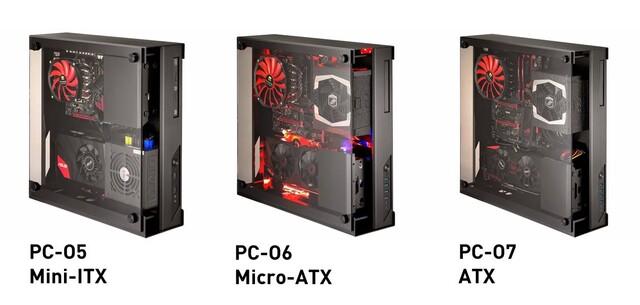 Lian Li PC-O5, PC-O6 & PC-O7