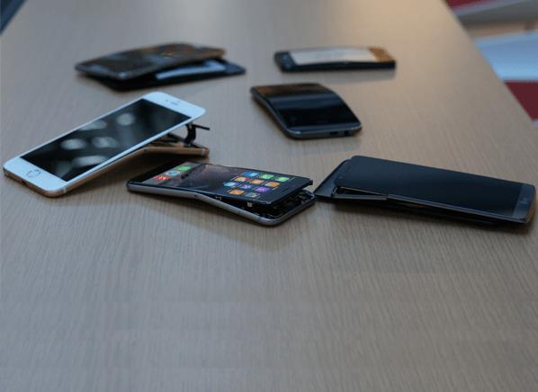 Smartphones nach dem Test