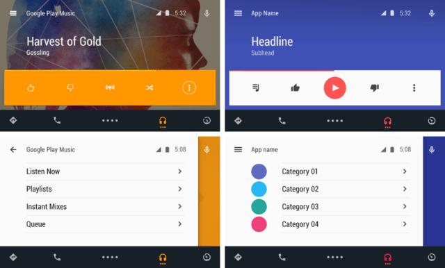Angepasstes und generisches Design für Apps