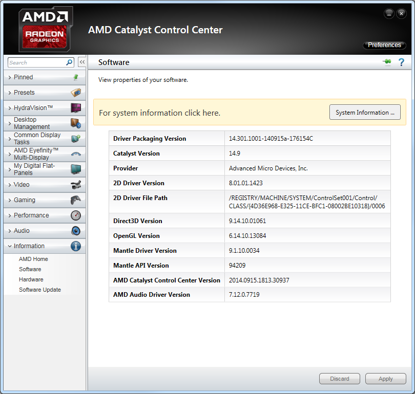 AMD Catalyst 14.9