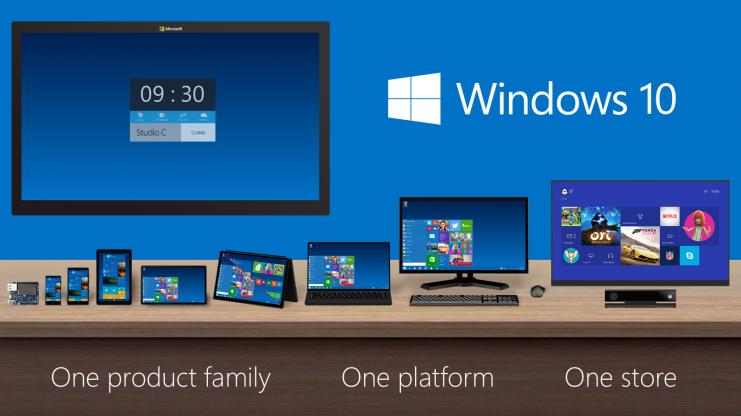Ein Betriebssystem, X Gesichter: Windows 10