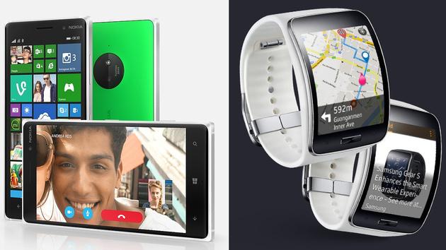 Smartphone und Smartwatch: Lumia 830 und Samsung Gear S erscheinen im Oktober