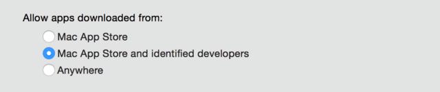 Sicherheitseinstellungen unter OS X
