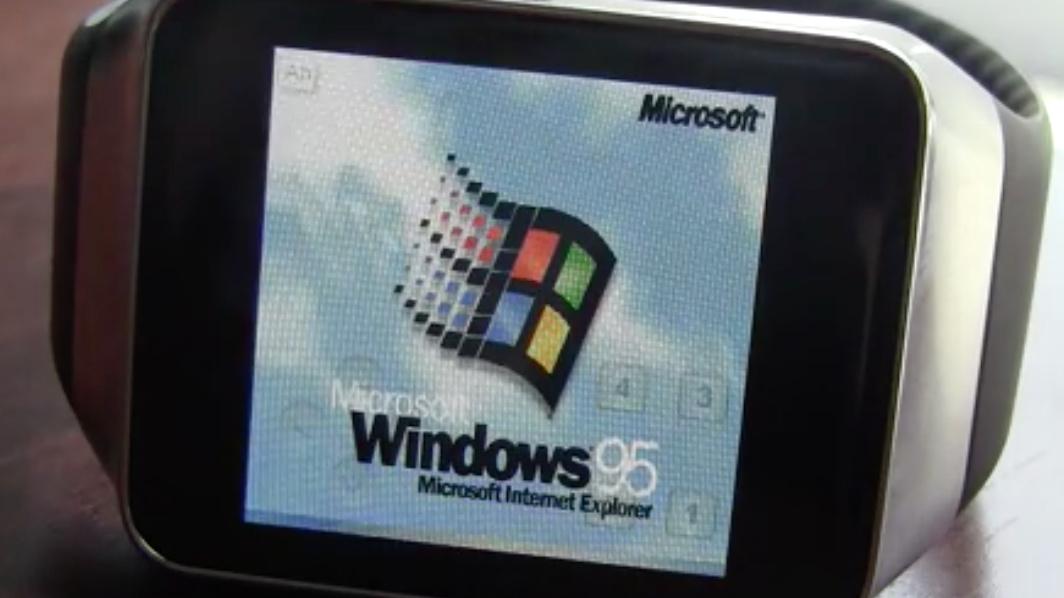 Gear Live: Windows 95 läuft im Emulator auf der Smartwatch
