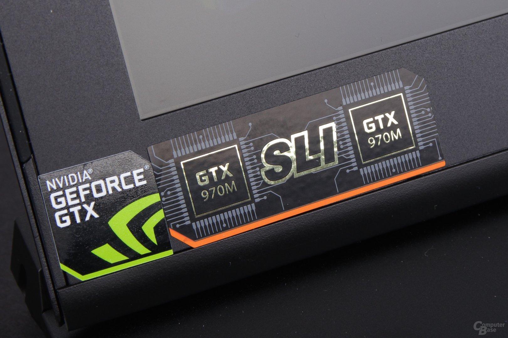 Im Aorus X7 stecken zwei GeForce GTX 970M