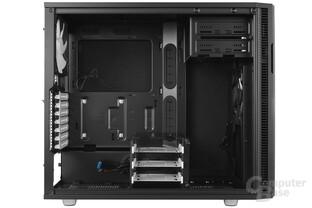 Fractal Design Define R5 – Unterer Festplattenkäfig versetzt