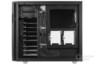 Fractal Design Define R5 – Innenraumansicht Rückseite