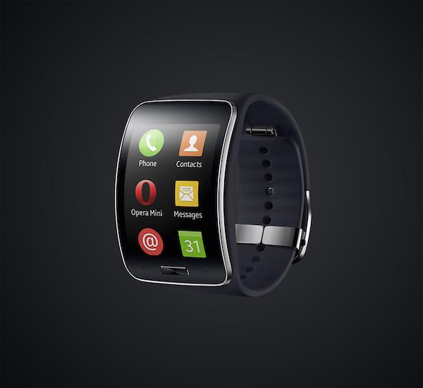 Samsung Gear S mit Opera Mini