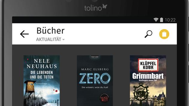 E-Book-Reader: Tolino Vision 2 und Tab 8 zur Frankfurter Buchmesse