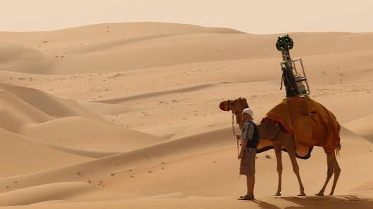 Street View: Google lässt jedermann in die Wüste reisen