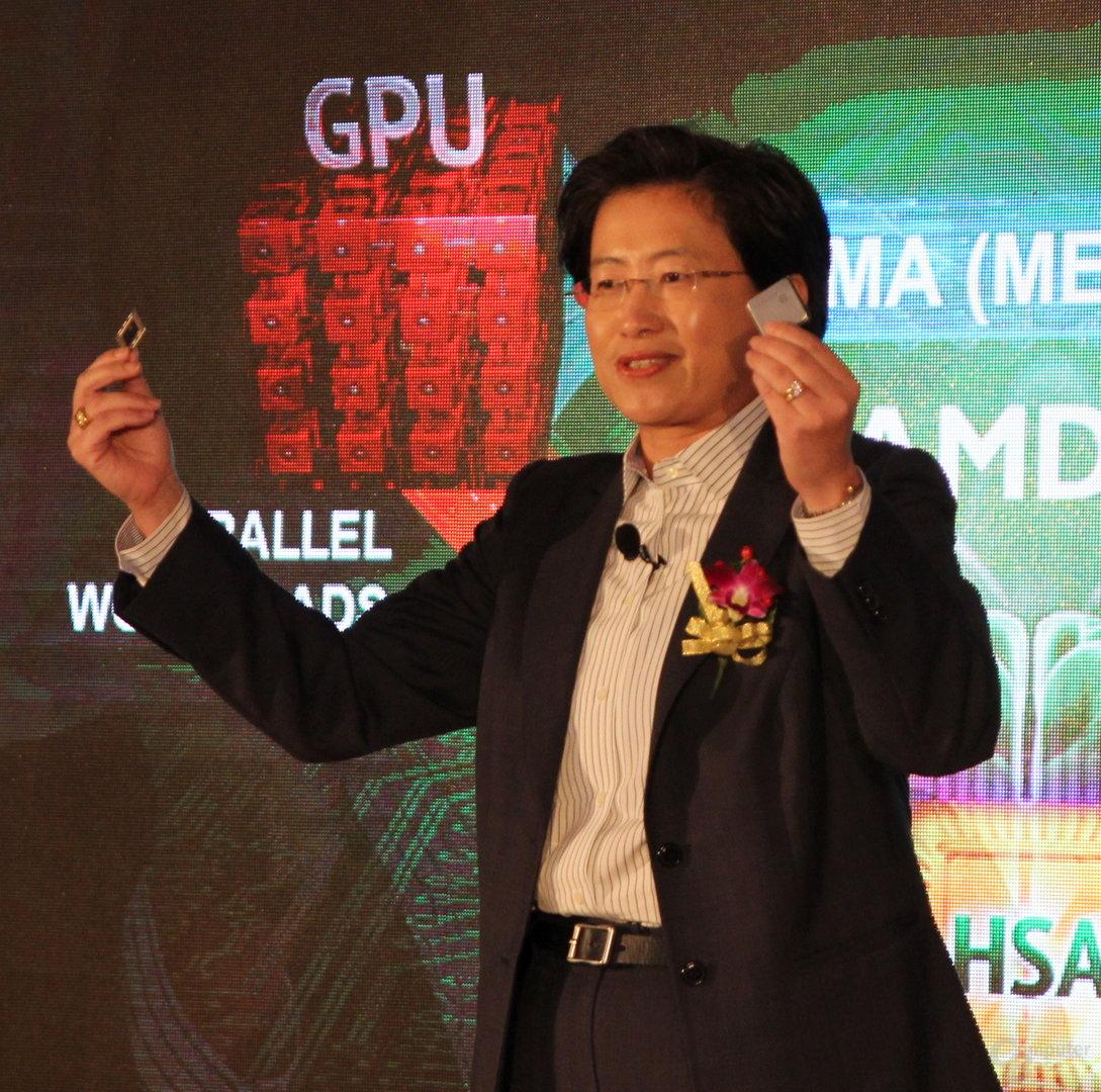 Neu an der Spitze von AMD: Lisa Su