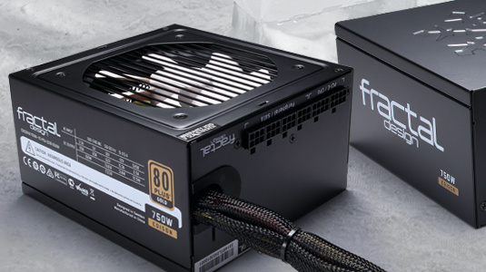 Fractal Design: Edison M mit 80Plus Gold ab 450 Watt