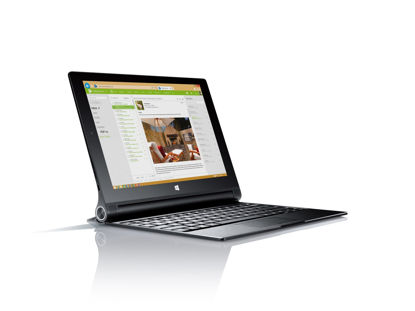 Lenovo Yoga Tablet 2 (Tastatur-Dock optional)