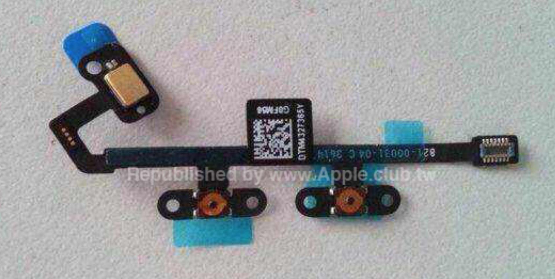 iPad Air 2 – Lautstärkewippen