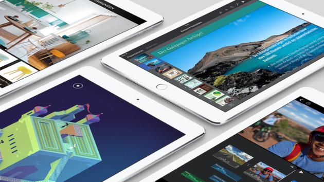 iPad Air 2 und iPad mini 3: Apple-Tablets mit Touch ID und der Farbe Gold