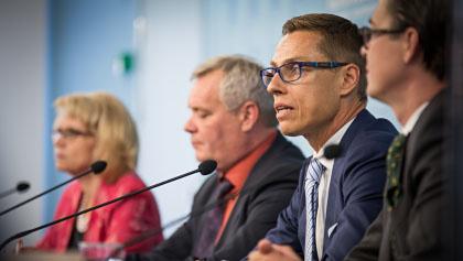 Alexander Stubb: Finnlands Premier gibt Apple die Schuld an Wirtschaftsmisere
