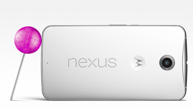 Google Nexus 6: 6-Zoll-Flaggschiff mit Android 5.0 Lollipop