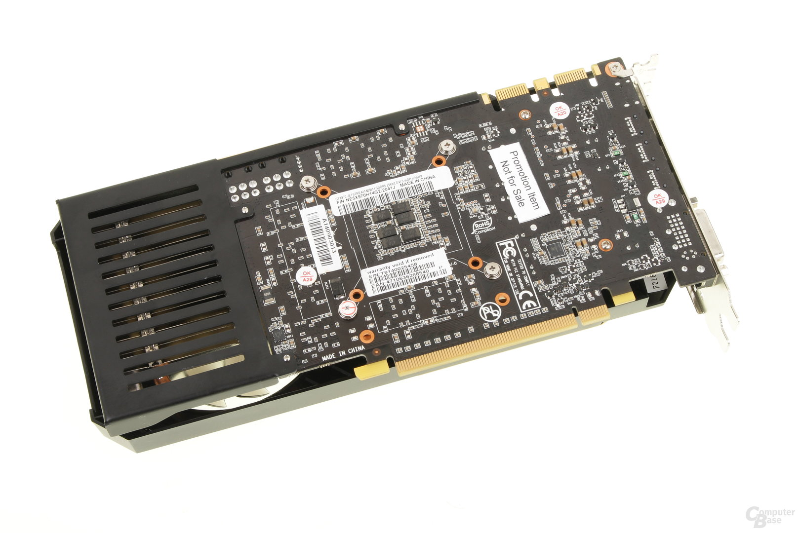 Palit GeForce GTX 970 JetStream – Rückseite