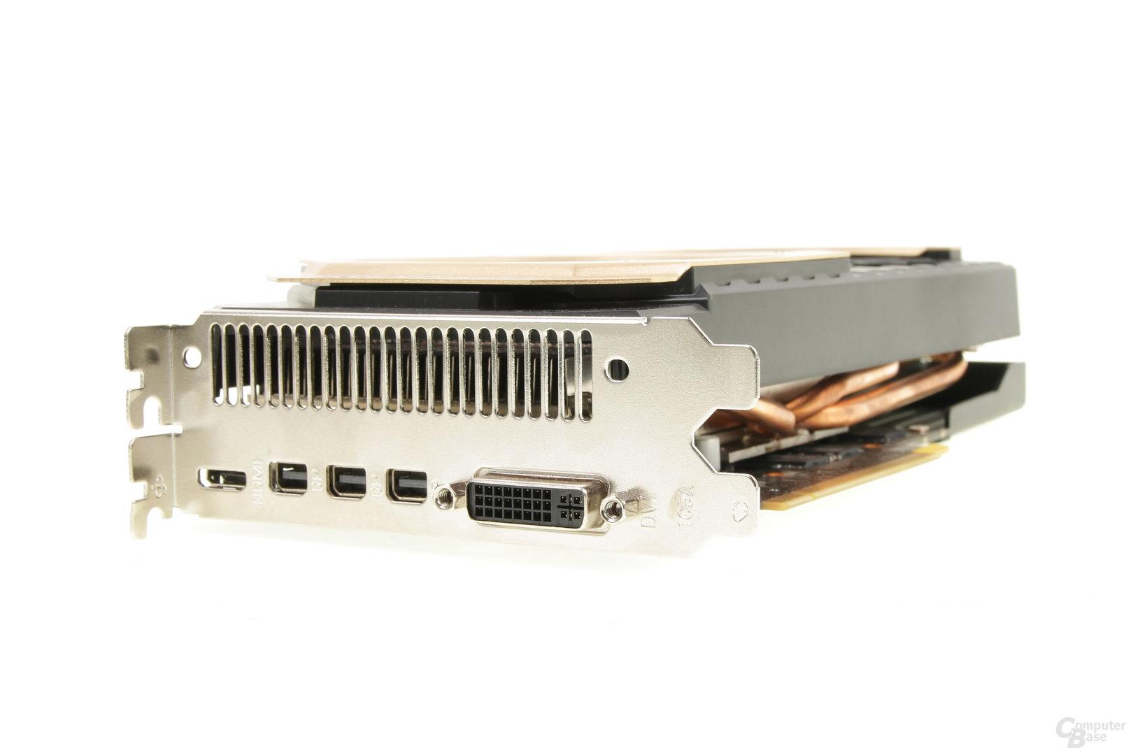 Palit GeForce GTX 970 JetStream – Anschlüsse