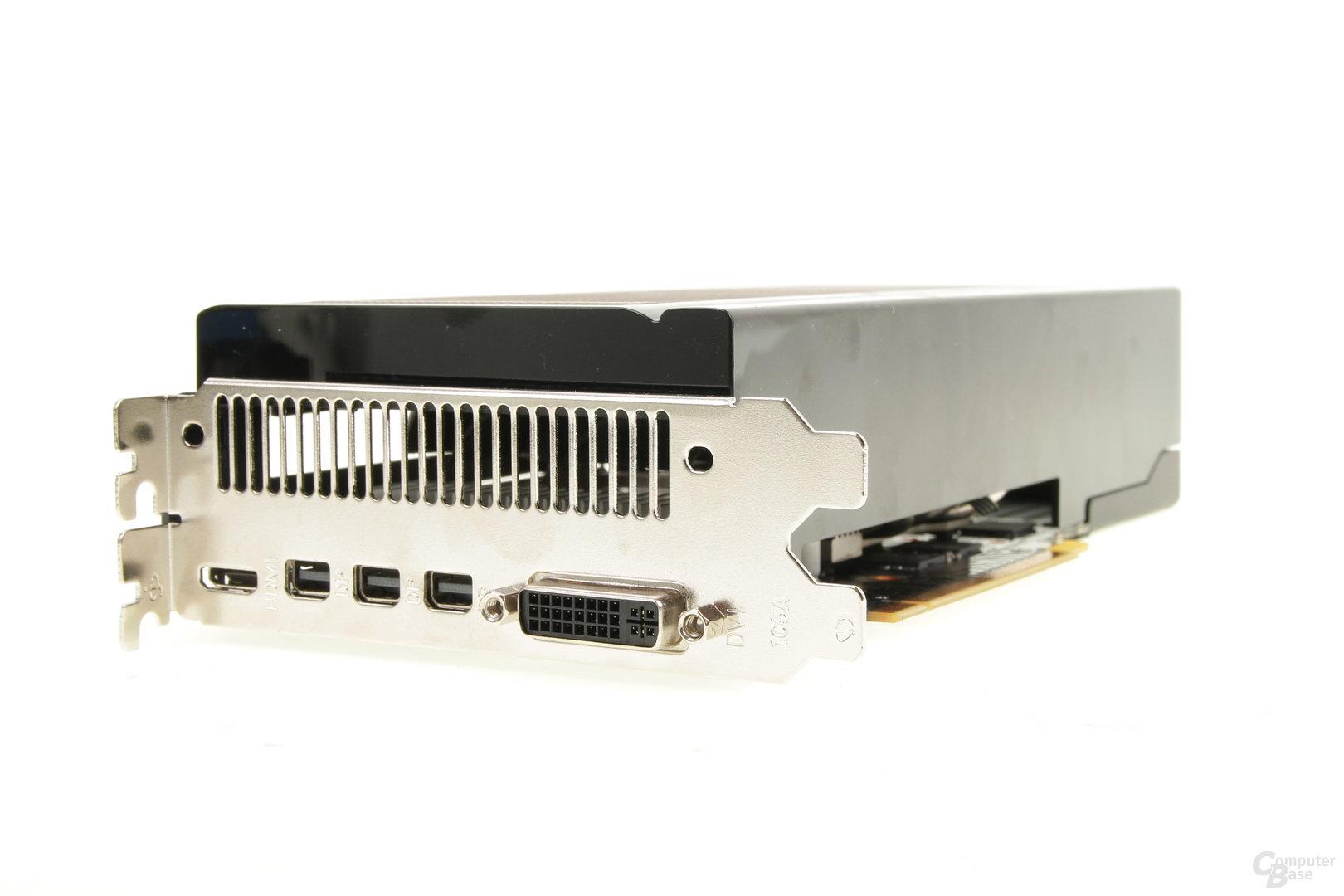 Gainward GeForce GTX 970 Phantom – Anschlüsse