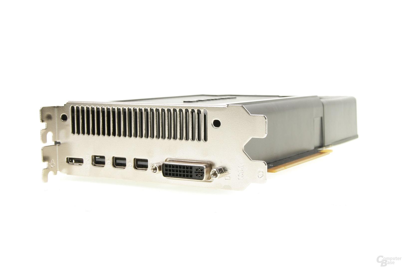 Gainward GeForce GTX 970 – Anschlüsse